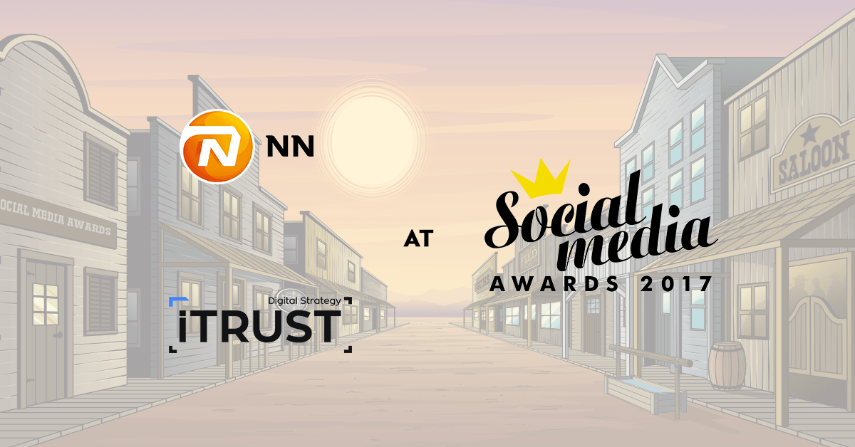 Η iTrust και η NN Hellas βραβεύονται στα Social Media Awards 2017